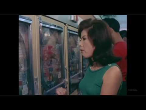 カラー映像 昭和44年のパチンコ屋 PACHINKO 1969