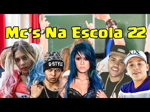 Mc's NA ESCOLA 22 Mc Lan Mc Davi Mc Tati Zaqui Mc Bella e Mc Pikachu
