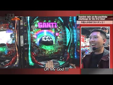 LET'S PACHINKO 20 Foreign tourists first Pachinko experience