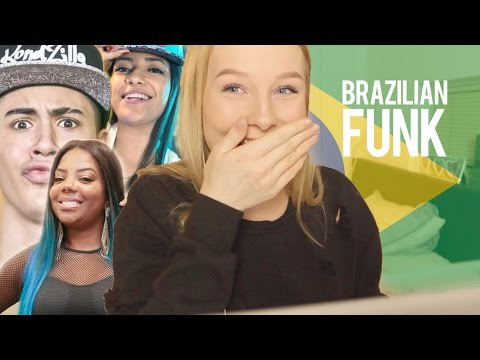 REACTION TO BRAZILIAN MUSIC FUNK
