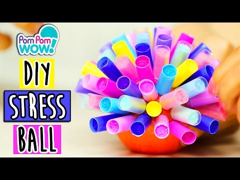 Pom Pom Stress Ball DIY How To Wow Show Pom Pom Wow Official