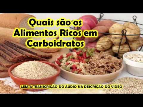Quais são os Alimentos Ricos em Carboidratos