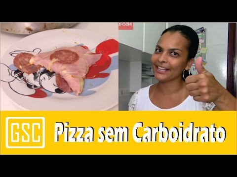 Pizza sem Carboidrato Low-carb