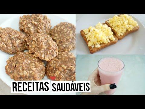 RECEITAS SAUDÁVEIS E FÁCEIS LANCHES PARA ESCOLA - Bia Gois